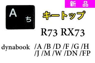 新品 東芝 dynabook R73/A R73/B R73/D R73/U R73/F R73/W シリーズ(ブラック)用 キートップ部品 単品販売/バラ売り(取付説明書付き)