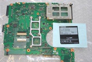 中古 東芝 Satellite B452/G シリーズ マザーボード(CPU付き)No.0118-2