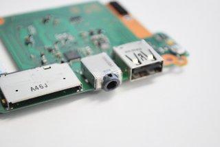 中古 東芝 dynabook KIRA V634/28KS スイッチボード USB/イヤホン/SD