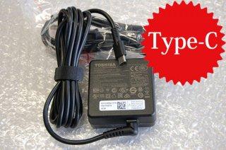 中古美品 東芝 dynabook VZ72 VZ62 VZ42 V82 V72 V62 V42 用 AC電源アダプター  Type-C