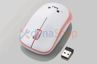 新品 エレコム ワイヤレスマウス かわいいマウス(パらちゃん似)