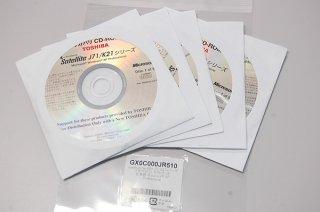 処分品 windows XP 中古 東芝 Satellite J71/K21シリーズ リカバリーメディア