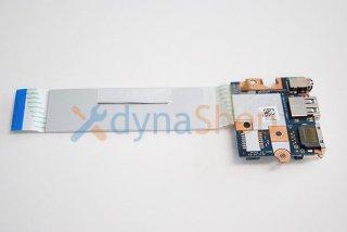中古 東芝 dynabook Satellite B25/66 B25/32 シリーズ用 USB/LANボード(有線)No.210508-31