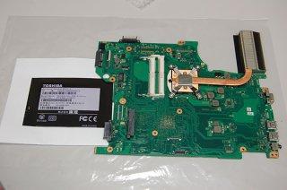 中古 東芝 東芝 Satellite B453/J用 マザーボード(CPU付)No.0114-1