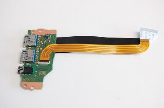 中古 東芝 dynabook B45/M用 B55/M USB3.0ボード/イヤホン No.210313-7