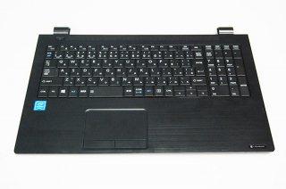 中古美品 東芝 dynabook B45/M B55/M シリーズ用 キーボードベゼル(パームレスト)No.0229