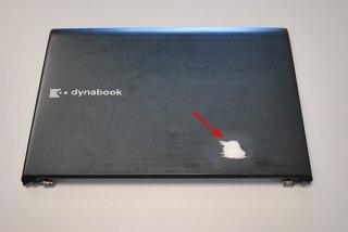 訳あり 中古 東芝 dynabook R732/F シリーズ 液晶カバー(ヒンジ金具付き)