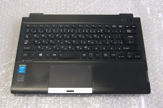 中古 東芝 dynabook R734/M シリーズ 用 キーボードベゼル(指紋認証)No.0412-1
