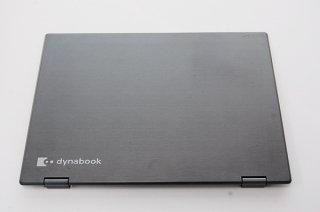 中古美品 東芝 dynabook V62/B シリーズ用 LCDカバー/ヒンジ金具付き No.0414-1