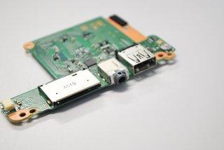 中古 東芝 dynabook KIRA V63/PS スイッチボード USB/イヤホン/SD