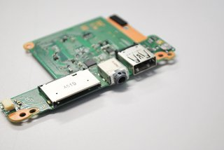 ジャンク 東芝 dynabook KIRA V73/P スイッチボード USB/イヤホン/SD