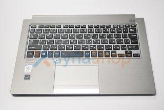 中古美品 東芝 dynabook R63/P シリーズ用 キーボードパームレスト(キーボード付き) No.0710