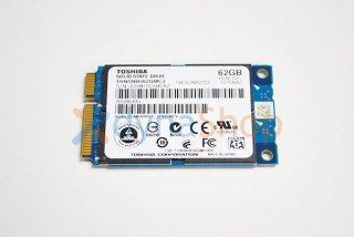 中古 東芝 純正 SSDブート用 62GB mSATA SSD