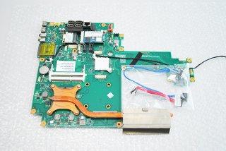 中古 東芝 REGZA PC dynabook Qosmio D710/T6AB シリーズ マザーボード(CPU付 TVチューナー、wi-fiカード付)No.0928