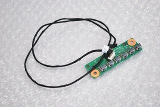 中古 東芝 REGZA PC dynabook Qosmio D710/T6AB シリーズ フレキシブルボタンボード No.0928