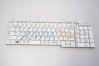 中古美品 東芝 dynabook TV/64 TX/66 T750 T751 V65シリーズ 交換用キーボード(ホワイト)No.1008