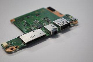 東芝 dynabook KIRA VZ73/TS スイッチボード USB/イヤホン/SD No.210508-44