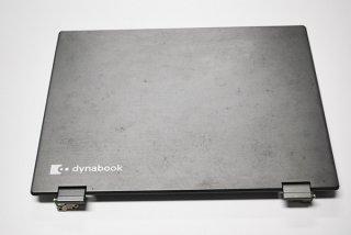 中古 東芝 dynabook V62/B シリーズ用 LCDカバー/ヒンジ金具付き No.1110