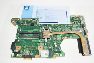 中古 東芝 dynabook Satellite B35/R用 マザーボード(wi-fiカード、CPU付き)No.1124