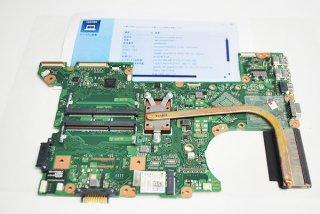中古 東芝 dynabook Satellite B35/R用 マザーボード(wi-fiカード、CPU付き)No.210516-1
