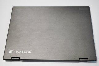 中古 東芝 dynabook V82/B シリーズ用 LCDカバー/ヒンジ金具付き No.1226