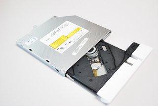 中古 東芝 dynabook T55 T45 T65 シリーズ DVDスーパーマルチドライブ/ホワイト No.210113-6