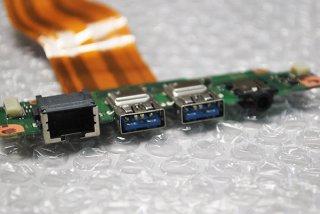 中古 東芝 dynabook R64/A シリーズ USB3.0/LAN/イヤホンボード No.210301-9
