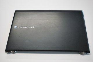 中古美品 東芝 dynabook R731/36CB 液晶カバー ブラック webカメラ付き No.210308-10