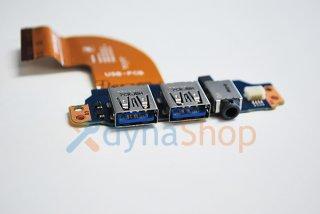 中古 東芝  dynabook R73/A R73/B R73/D R73/U RX33 シリーズ 用 USB基盤カード No.210316-8