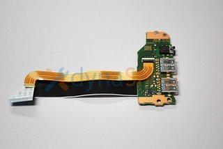 中古 東芝 dynabook B45/DN 用 B55/DN B65/DN USB3.0ボード/イヤホン No.210320-6