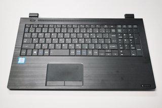 中古美品 東芝 dynabook B45/DN B55/DN B65/DN シリーズ用 キーボードベゼル(パームレスト)No.210320-8