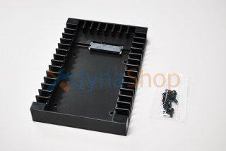 新品 2.5 → 3.5変換 2.5インチ HDD/SSD 変換マウンタ SATAインターフェース内蔵 HDDケース No.210329-1