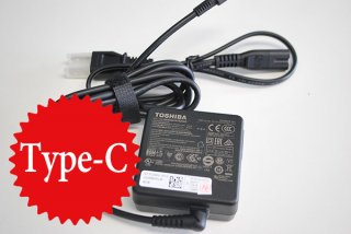中古美品 東芝(Dynabook INC製)dynabook U63 UZ63 V72 VZ72 シリーズ AC電源アダプター Type-C No.210508-45