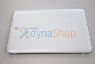 中古美品 東芝 dynabook B452/21F  シリーズ 液晶カバー/ヒンジ金具 リュスクホワイト No.210510-3