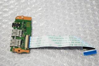 中古 東芝 dynabook T45/CGS T45/D T45/E T55/D T55/E シリーズ用 USB2.0ボード No.210526-9