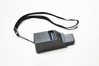 新品 携帯用 USBハブ 3ポート USB3.0+USB2.0コンボ ハブ G210605-7