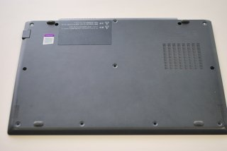 中古美品 東芝 dynabook G83/M シリーズ ボトムカバー(ライセンス、型番透かし付き)No.210612-2