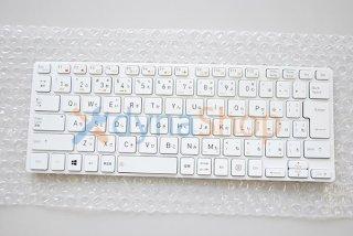 中古美品 dynabook ZZ75 シリーズ 交換用 キーボード パール ホワイト用 No.210625-4