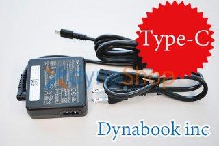 新古美品 Dynabook製 dynabook VZ/HS VZ/LS VZ/HP VZ/HR シリーズ 用 Type-C AC電源アダプター No.210920-2