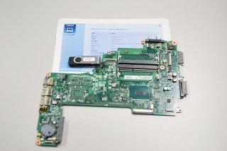 中古 東芝 dynabook T45/UG シリーズ マザーボード(CPU:Celeron付)リカバリーメディア付 M211014-8