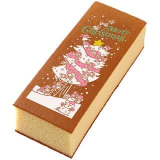 クリスマス絵文字カステラ2号(ツリー)