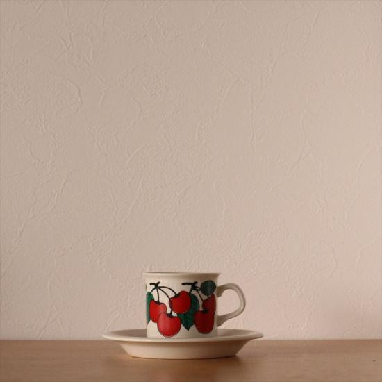 ARABIA kirsikka デミタス C&S coffee
