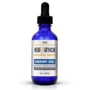 CBDオイル Elixinol(エリクシノール)ナチュラルドロップス 100(全国配送一律510円)