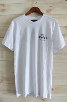 <img class='new_mark_img1' src='https://img.shop-pro.jp/img/new/icons14.gif' style='border:none;display:inline;margin:0px;padding:0px;width:auto;' />SEAGER CLASSIC TEE シーガー Tシャツ NAVY WHITE