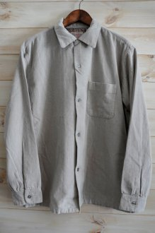 <img class='new_mark_img1' src='https://img.shop-pro.jp/img/new/icons24.gif' style='border:none;display:inline;margin:0px;padding:0px;width:auto;' />TOWN CRAFT 60's CORDUROY OPEN SHIRTS タウンクラフト コーデュロイオープンシャツ グレー