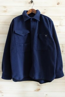 <img class='new_mark_img1' src='https://img.shop-pro.jp/img/new/icons24.gif' style='border:none;display:inline;margin:0px;padding:0px;width:auto;' />LAST CHANCE FLEECE HUNTING SHIRT ラストチャンス フリースハンティングシャツ NAVY