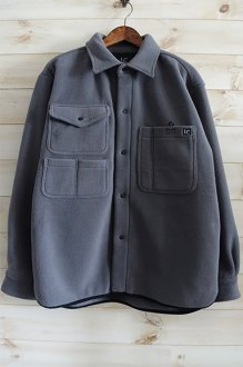 <img class='new_mark_img1' src='https://img.shop-pro.jp/img/new/icons24.gif' style='border:none;display:inline;margin:0px;padding:0px;width:auto;' />LAST CHANCE FLEECE HUNTING SHIRT ラストチャンス フリースハンティングシャツ GREY