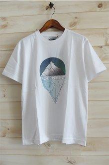<img class='new_mark_img1' src='https://img.shop-pro.jp/img/new/icons14.gif' style='border:none;display:inline;margin:0px;padding:0px;width:auto;' />POLEWARDS ポールワーズ 氷河 Tシャツ ホワイト グレー ネイビー