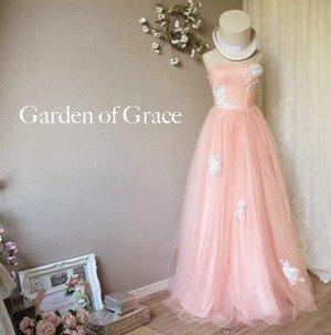 マーガレットメリルAラインドレス ピンク