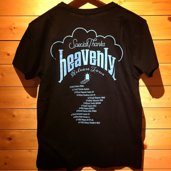 SpecialThanks / heavenly T-shirts (Black)